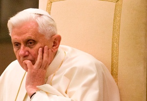 The Pope, worried