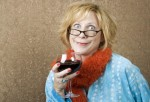 funny-woman-drinking-wine