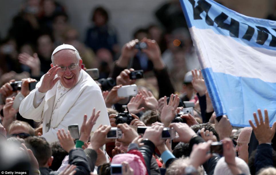 A Joyful Pope